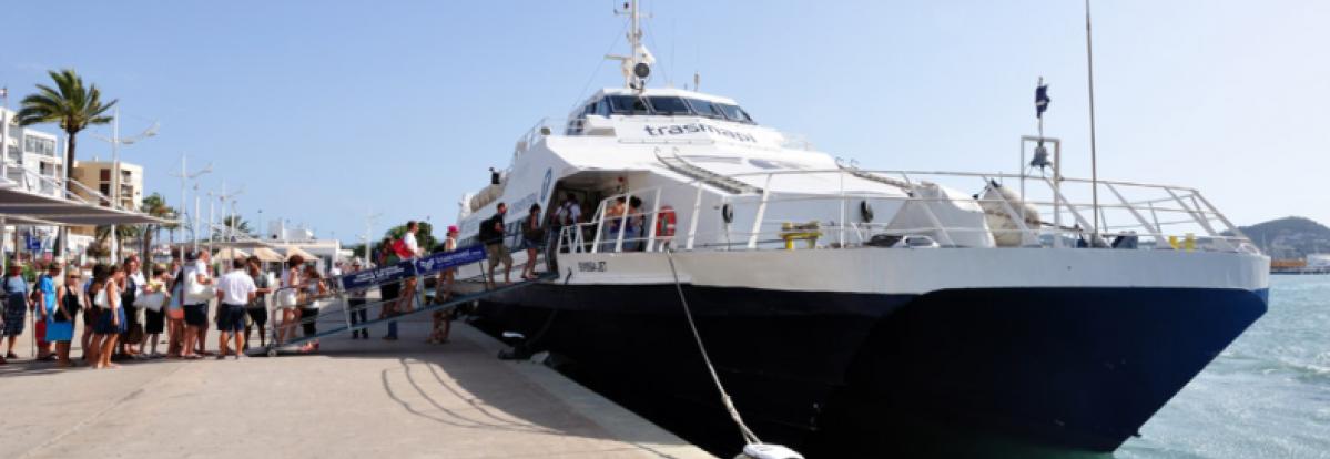 Ferry naar Fomentera