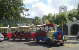 De San Antonio Express toeristen trein