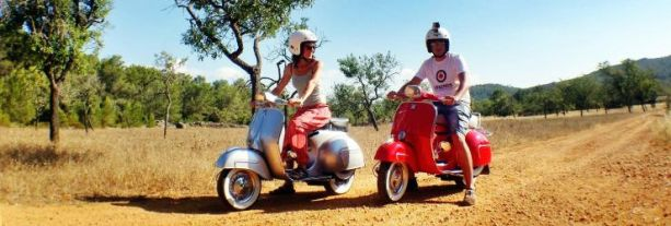 Scooter rondrit Ibiza