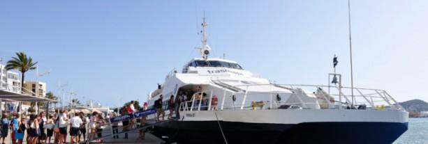 Met de Ferry van Ibiza naar Formentera